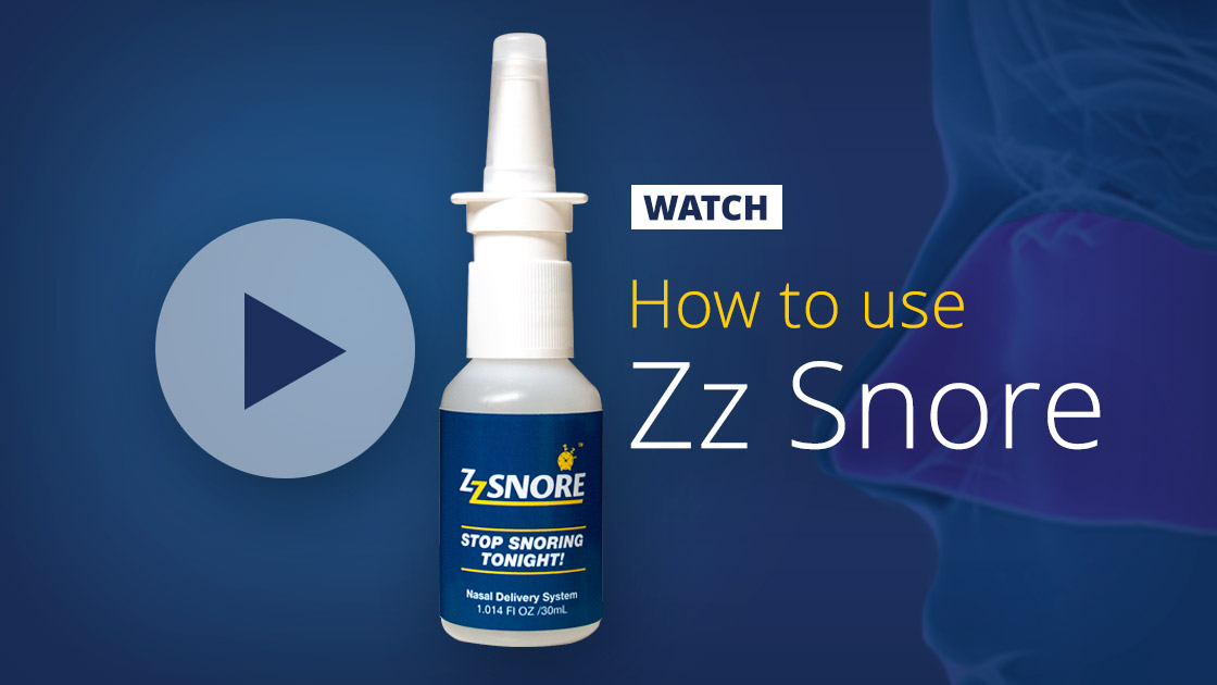 How to use Zz Snore